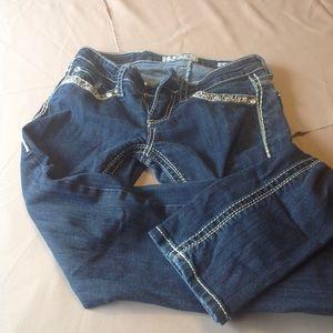 Women's bling jeans
